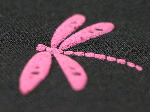 Schaumdruck Libelle