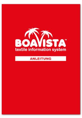 Bedienungsanleitung zu BOAVISTA (Onlinetool)